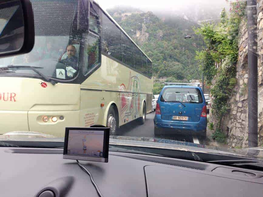 Tips for Driving in Italy: Amalfi Coast