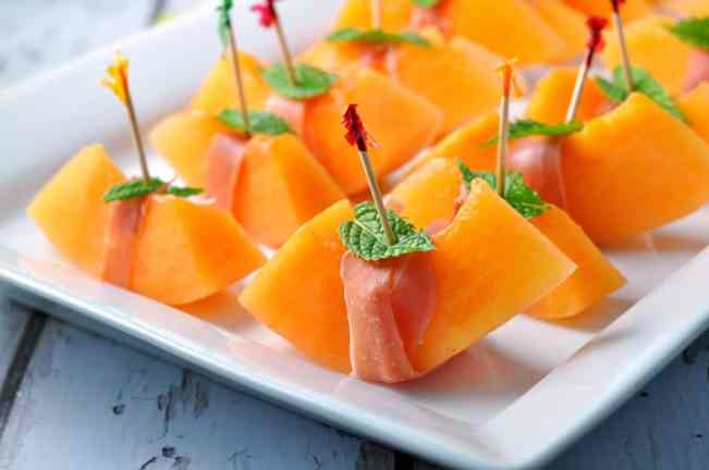 Proscuitto with Melon and Mint by Flavour and Savour
