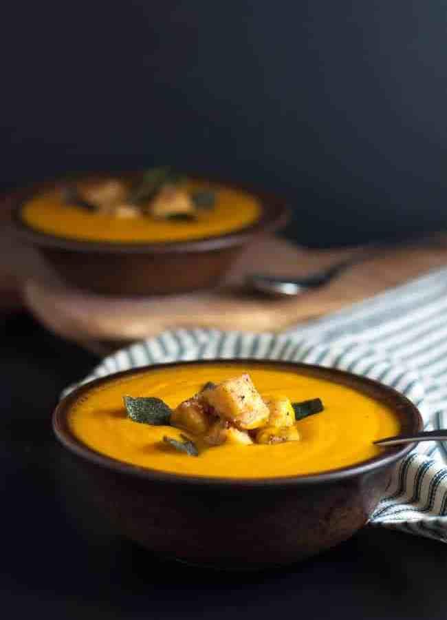 Smoky Chipotle Sweet Potato Soup