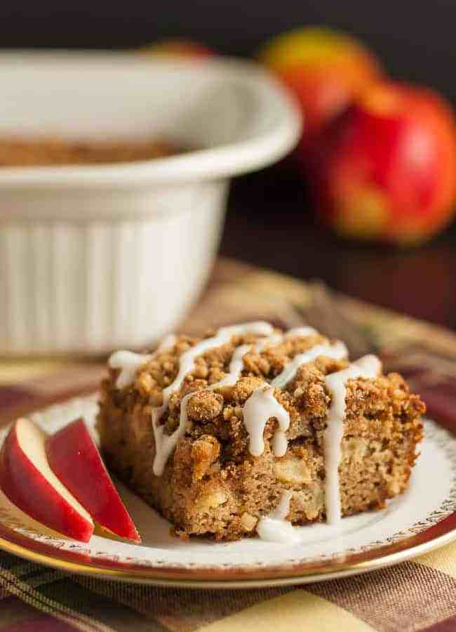 Gluten-free Apple Cinnamon Coffee Cake