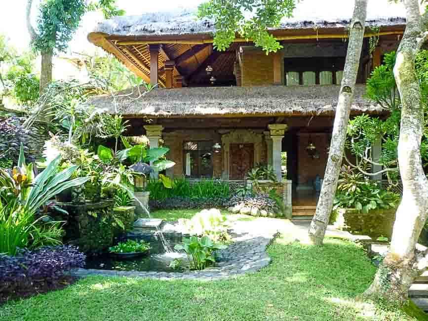 Easy Indonesian Fried Rice--Nasi Goreng. A villa in Bali