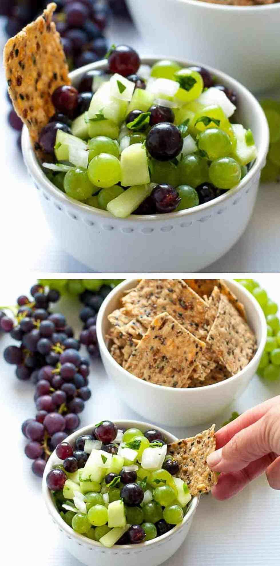 Grape Salsa. Six Fresh Salsa Recipes to Spice Up Your Life