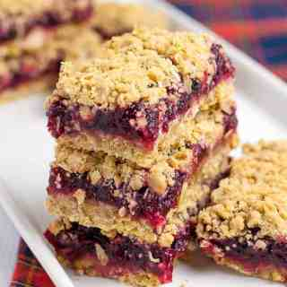 Gluten Free Cranberry Lemon Oatmeal Bars