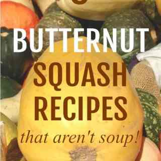 6 butternut squash recipes that aren't soup! |www.flavourandsavour.com