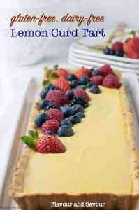 Gluten-Free Lemon Curd Tart