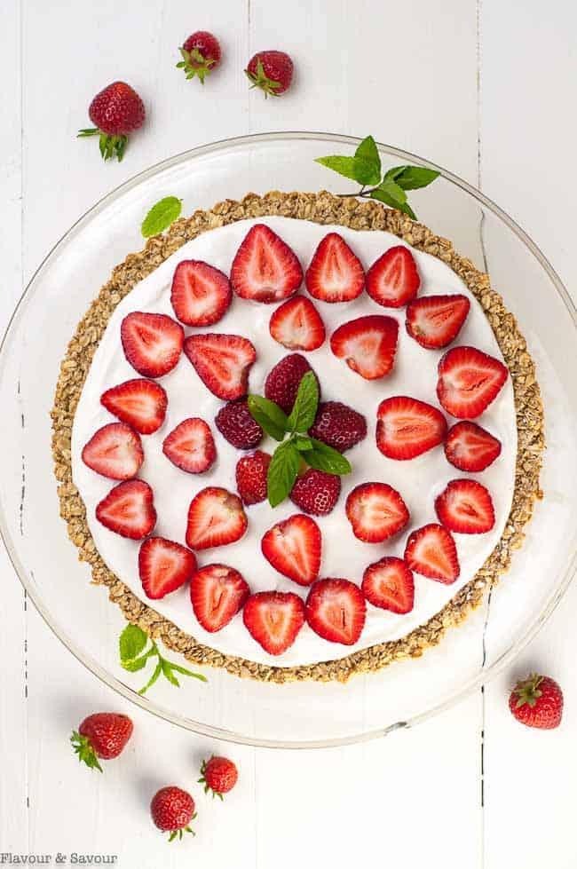 Gluten-Free Easy Breakfast Fruit Pizza