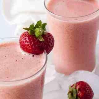 Strawberry Watermelon Collagen Smoothie