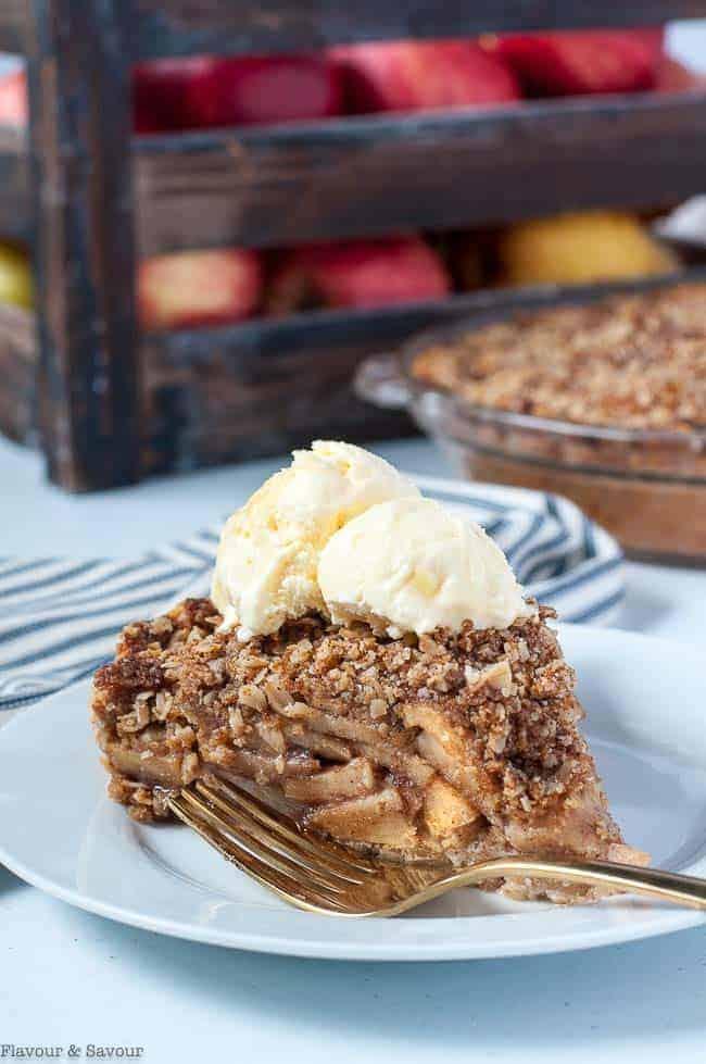 Gluten-Free Dutch Apple Pie