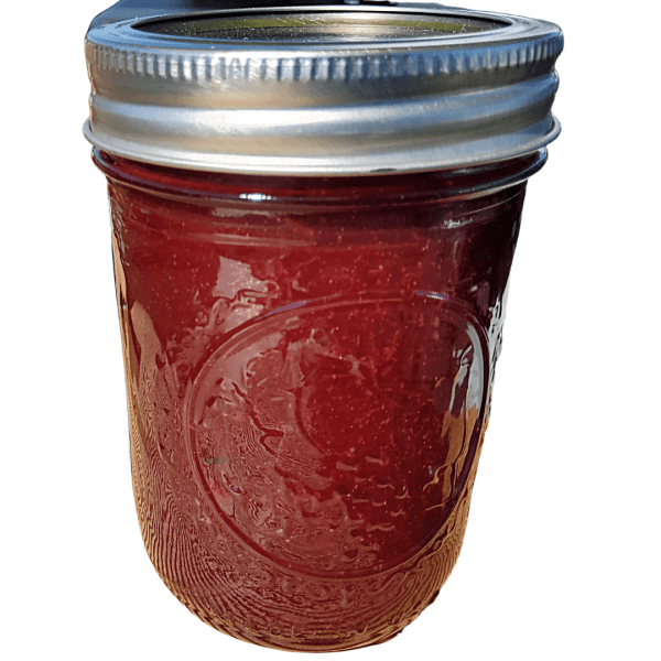 Spiced plum jam handcrafted artisan preserves from Flavour in a Jar.