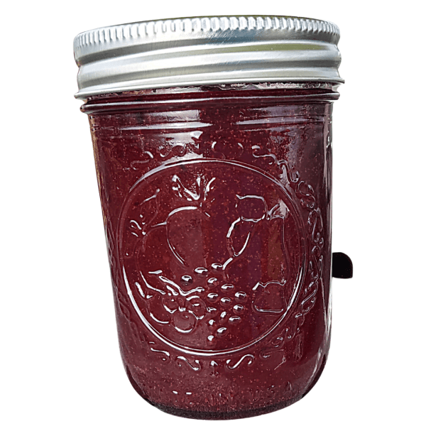 Plum and porter jam from Flavour in a Jar, handmade with locally grown, fresh produce