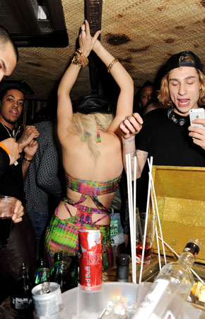 Rita Ora Aftershow Party With Red Bull Editions At Mahiki London