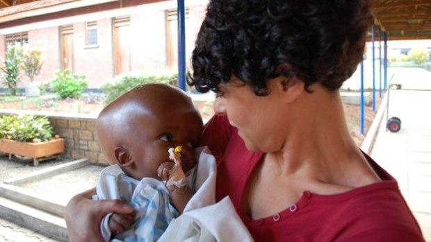 Uganda's Miracle Babies: Jenny with two-month-old, Sarah.