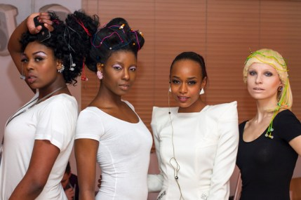 Annaliese Dayes and models