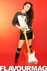 Cher Lloyd Flavourmag Cover Shoot
