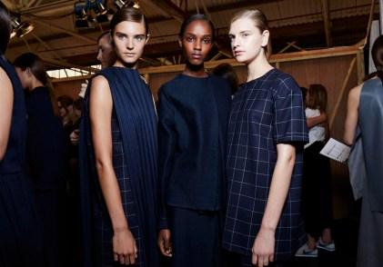 1205 SS15, backstage (Sam Wilson, British Fashion Council) 16
