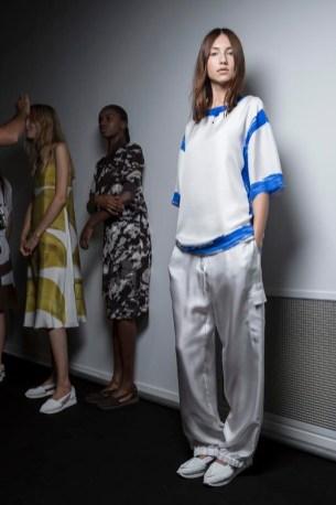 Jasper Conran SS15, backstage (Daniel Sims, British Fashion Council) 3