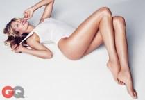 Jessica Hart photo shoot with GQ Magazine