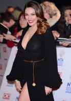 Kelly Brook's decision to go braless to the NTA's left her nipples exposed thanks to a combination of her sheer dress and flashing camera bulbs. Oops!