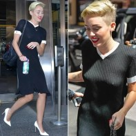 Miley Cyrus decided to go bra-less for a TV appearance - and managed to flash her nipples in the process