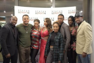 Status London Cast at exclusive screening