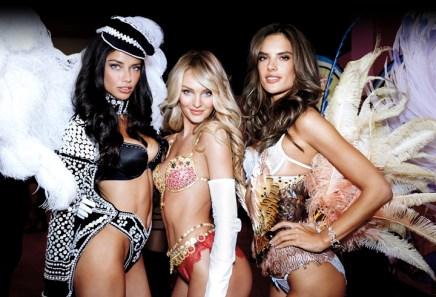 Adriana, Candice & Alessandra London Fashion Show 2014 Announcement