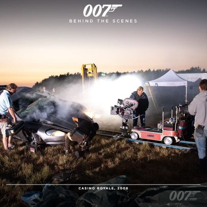 Bond 24 behind the scenes timeline photos 12