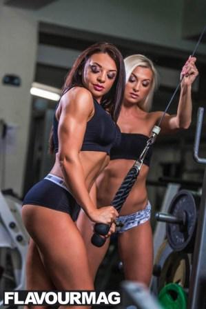 Emma Wray fitness model flavourmag 4