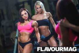 Emma Wray fitness model flavourmag 8