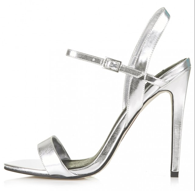 ROLO Skinny High Sandals in silver