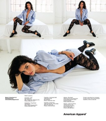 American Apparel BANNED adverts 2