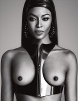 Naomi Campbell Naked in Lui Magazine 5