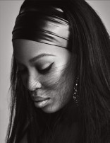 Naomi Campbell Naked in Lui Magazine 9