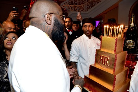 FAYETTEVILLE, GA - JANUARY 28: Rick Ross attends Rick Ross 40th Birthday Celebration on January 28, 2016 in Fayetteville, Georgia. (Photo by Paras Griffin/Getty Images for The Vanity Group)