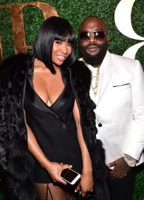FAYETTEVILLE, GA - JANUARY 28: Marlo Hampton and Rick Ross attend Rick Ross' 40th Birthday Celebration on January 28, 2016 in Fayetteville, Georgia. (Photo by Paras Griffin/Getty Images for The Vanity Group)