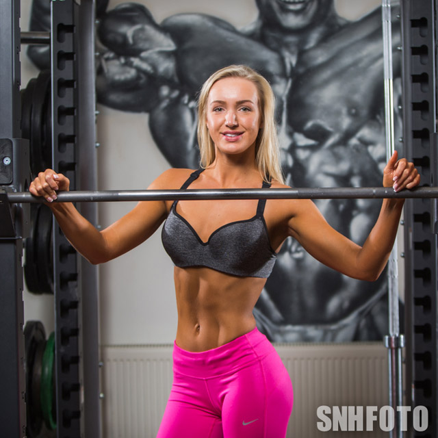 Millie George fitness model photos