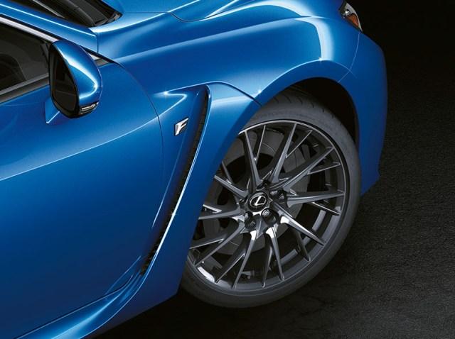 Lexus RCF wheels