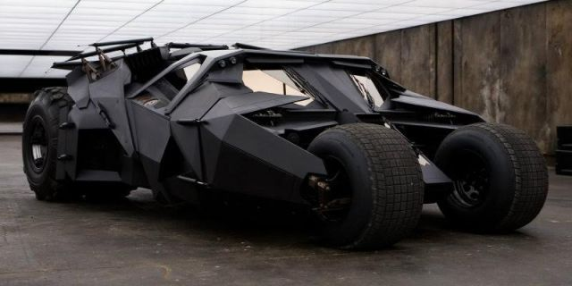 3. The Batmobile in Batman Begins