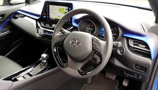 Inside the Toyota C-HR
