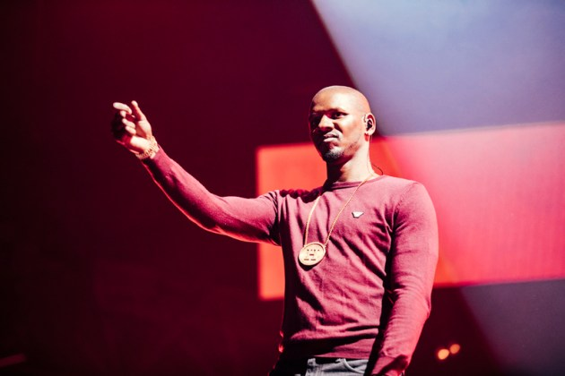 Giggs performs at Spotify's Who We Be at Alexandra Palace 30.11.17