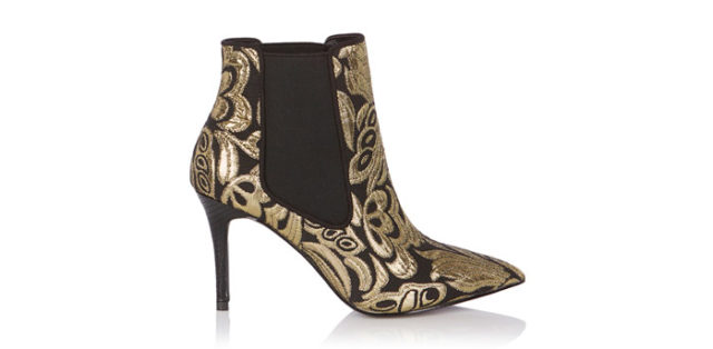 Mizuna Heeled Jacquard Boots