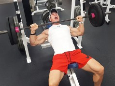Rob Terry Bench Press