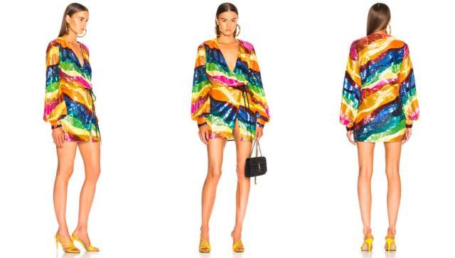 FWRD ATTICO Sequin Dress
