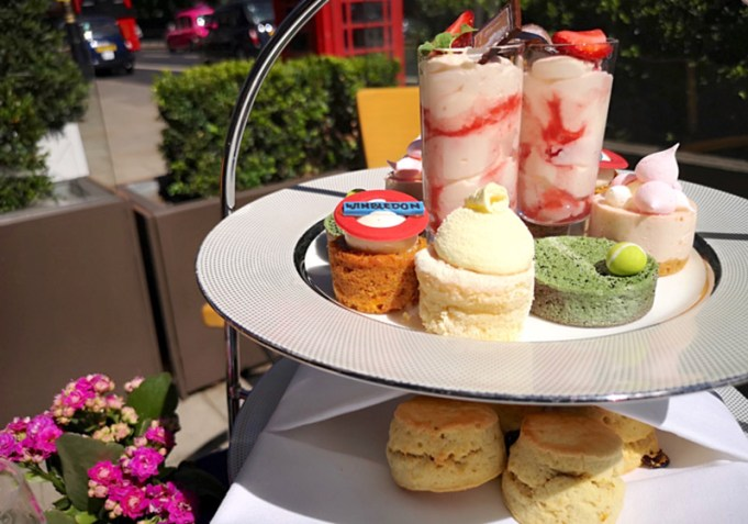GALVIN AT THE ATHENAEUM SERVE UP WIMBLEDON TEA