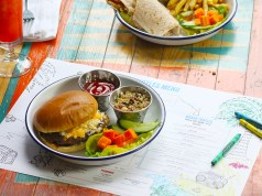Turtle bay kids burger