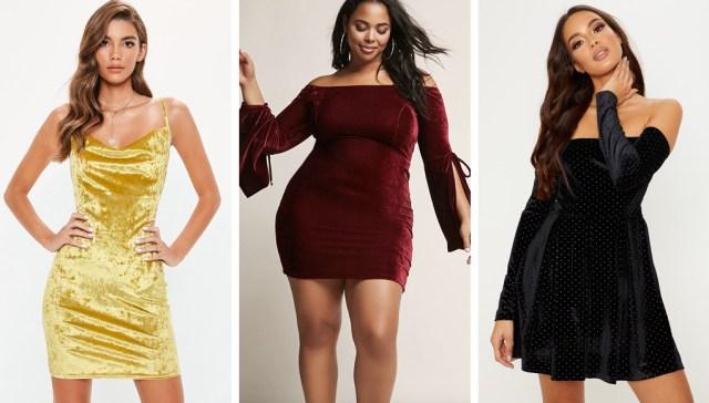 13 velvet party dress ideas