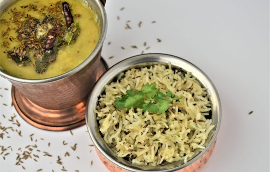 Restaurant Style Jeera Rice | Cumin Flavoured Rice