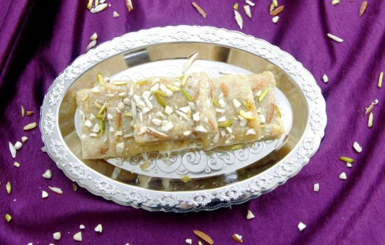 7 Cups Burfi | Gram Flour & Coconut Fudge