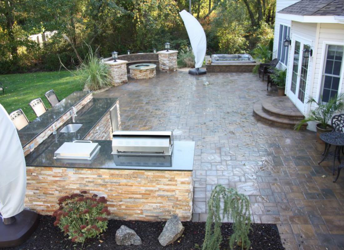 long island patio design installation