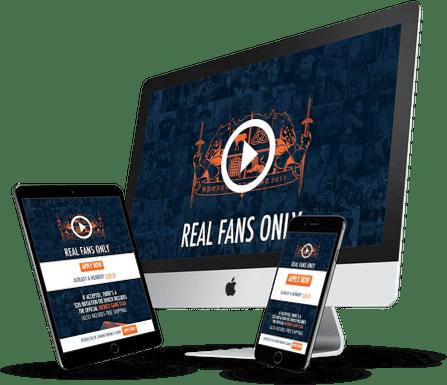 Bronco Gang Website Design