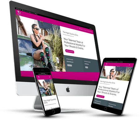 The High Country Girls Website Design
